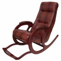 Кресло-качалка из экокожи Блюз-5 с подножкой 017.005 | Россия